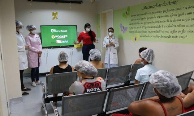 Incentivo ao aleitamento materno ganha programação no Hospital Materno-Infantil de Barcarena
