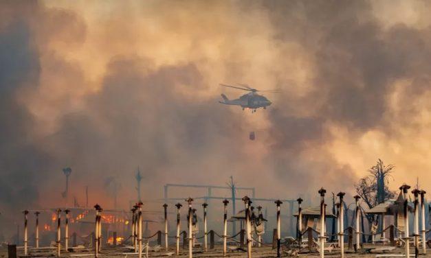 Pico de calor com incêndios na Itália faz temperaturas superarem os 47ºC