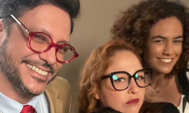 Lucio Mauro Filho posta foto com elenco de nova novela e comemora retorno ao trabalho