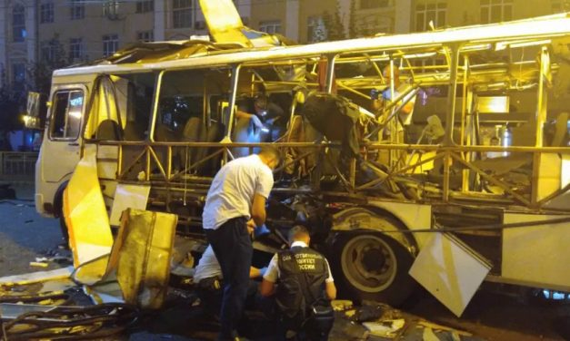 Explosão em ônibus deixa dois mortos e dezenas de feridos na Rússia