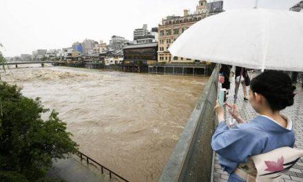 Japão se prepara para mais chuvas torrenciais