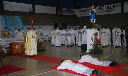 Diocese de Bragança ganha mais dois novos padres