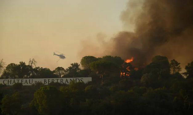 'Pesadelo': Bituca de cigarro pode ter provocado incêndios no sul da França