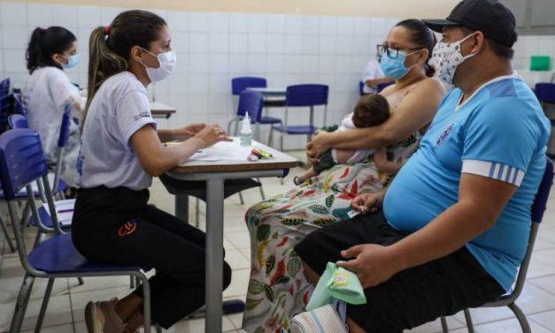 Mais de 1.300 pessoas recebem serviços de saúde em São Sebastião da Boa Vista
