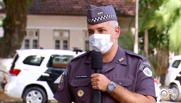 Comandante da PM incentiva ato pró-Bolsonaro e ataca o STF; Doria diz que militar será afastado