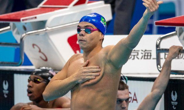 Gabriel Bandeira conquista 1º ouro do Brasil nas Paralimpíadas após ascensão meteórica