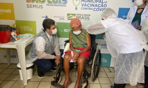 São Luís é a 1ª capital a iniciar aplicação de doses de reforço da vacina contra a Covid-19