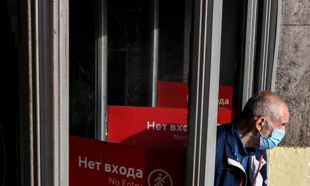 Rússia registra recorde de mortes por Covid-19 em 24 horas