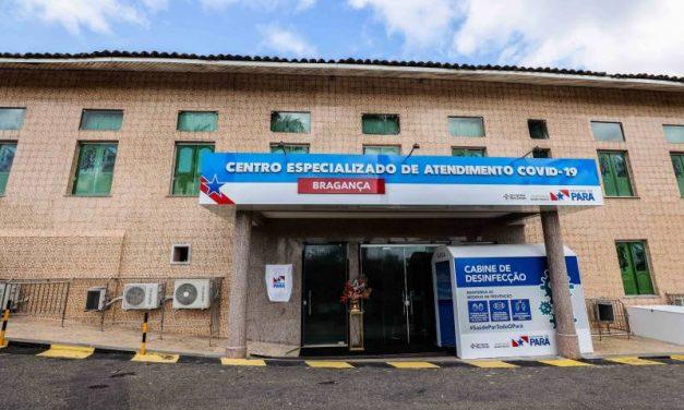 Estado inaugura em centro para atendimento exclusivo de pacientes com Covid-19 em Bragança