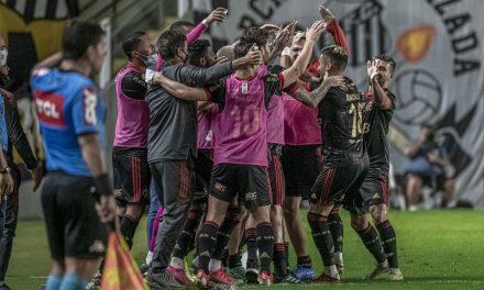 Flamengo de Renato faz 64,4% dos gols no segundo tempo, e pausa servirá para renovar gás