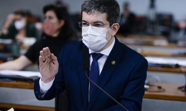 Randolfe: Relatório da CPI da Covid vai apontar 25 nomes para indiciamento