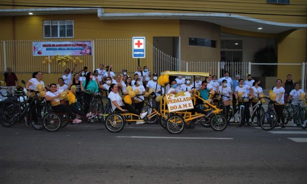 Hospital Geral de Bragança realiza 2º pedal do AME
