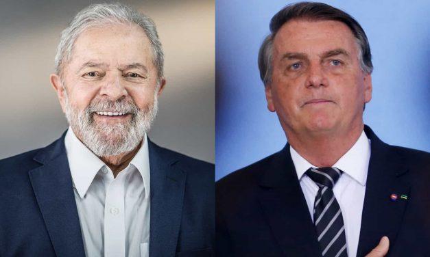 Eleições: Lula venceria Bolsonaro no 2º turno com 55% contra 30%, diz PoderData