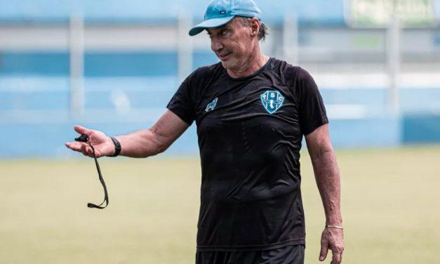 """Fonseca não descarta mudanças e quer imposição contra o Santa Cruz: """"Temos que decidir"""""""