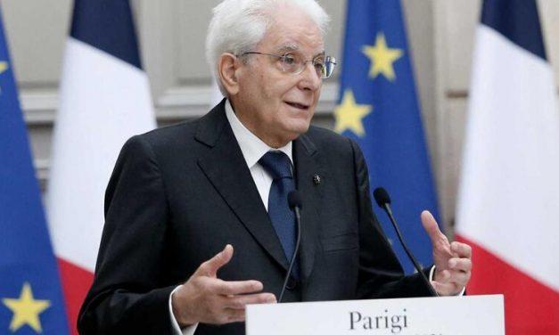 Presidente da Itália pede 'política externa comum' na UE