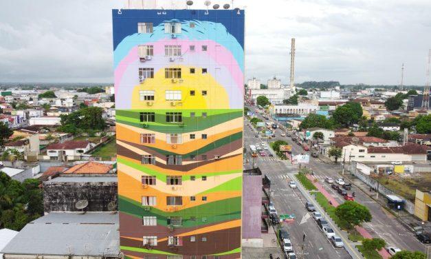 Castanhal recebe grande obra de arte pelas mãos do artista paraense Sebá Tapajós
