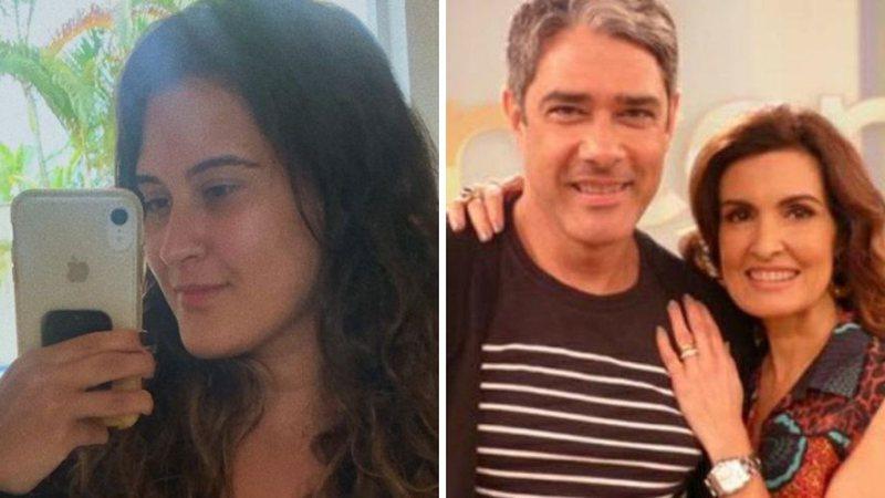 """Filha de Fátima Bernardes e William Bonner deixa virilha exposta em foto de biquíni: """"Gostosa"""""""