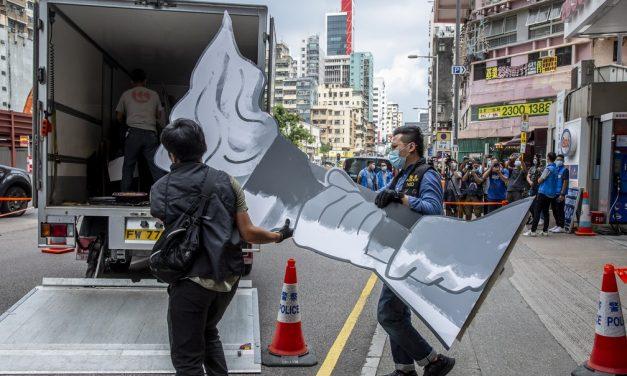 Polícia de Hong Kong faz buscas em museu sobre o massacre da Praça da Paz Celestial