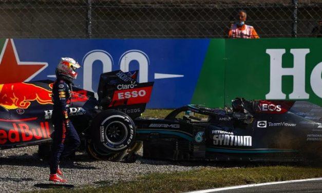 F1: Verstappen culpa Hamilton por acidente no GP da Itália e fala sobre nova guerra de bastidores