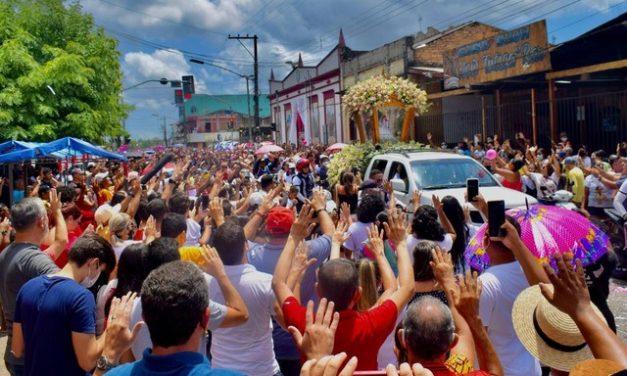 Veja fotos do tradicional Círio de Nazaré em Vigia