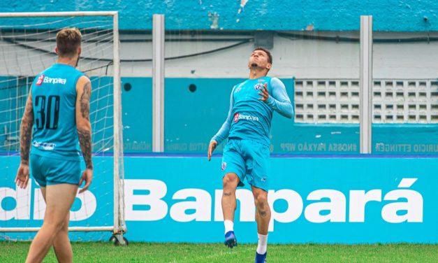 Paysandu  com duas baixas e Bruno Paulista volta a treinar com o elenco