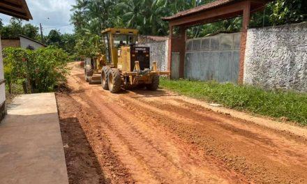 Serviços de terraplanagem e limpeza começam hoje em bairros de Vigia