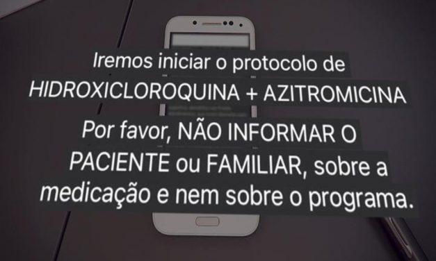 Investigada na CPI da Covid, Prevent Senior ocultou mortes em estudo sobre cloroquina apoiado por Bolsonaro