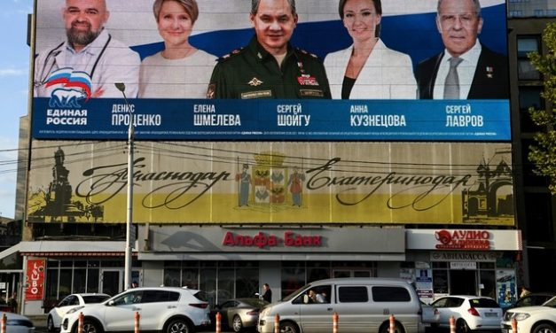 Com repressão a movimentos da oposição, partido governista da Rússia é o favorito em eleições legislativas