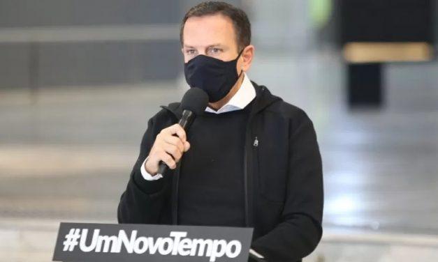 Ajuda de Temer prova 'inutilidade' de Bolsonaro, diz Doria