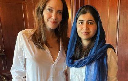 Angelina Jolie e Malala se unem para promover os direitos das crianças