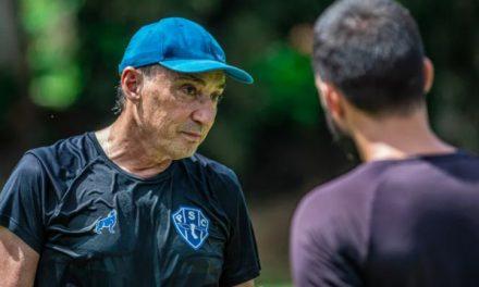 """Para Roberto Fonseca, goleada serve de reflexão por foco máximo diante do Altos-PI: """"Entrar ligados"""""""