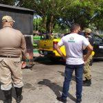 Sefin retira trailers da Praça da Bandeira em Bragança