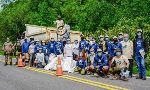 Projeto Mangues da Amazônia realiza ação de limpeza em Ajuruteua neste sábado (18)