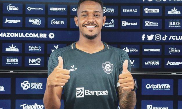 """Há quase três semanas em Belém, zagueiro é apresentado no Remo: """"Estou aqui para contribuir"""""""