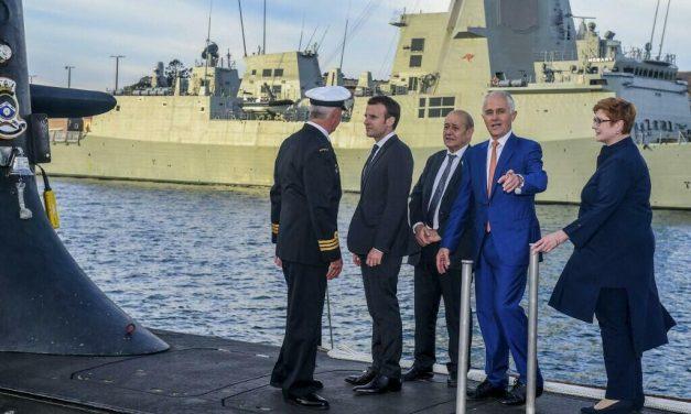 Macron e Biden conversarão sobre disputa por submarinos na Austrália