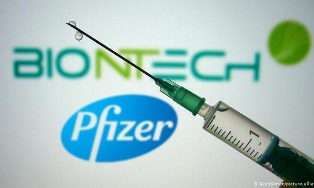 Pfizer e BioNTech anunciam que vacina é segura e induz resposta imune em crianças de 5 a 11 anos