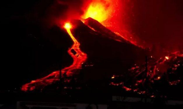 Vulcão nas Canárias: veja as impressionantes imagens da erupção na Espanha