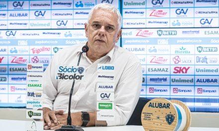 Ettinger diz que Paysandu tem cumprido as metas do ano e projeta volta da torcida na Série C
