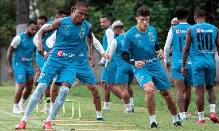 Paysandu tem quatro jogadores pendurados para a última rodada do Grupo A da Série C do Brasileiro