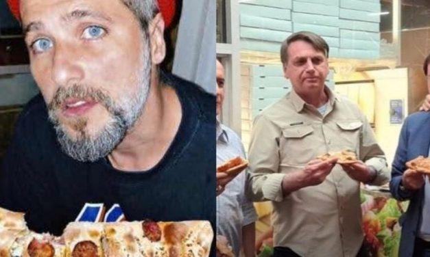 """Bruno Gagliasso tira onda com presidente Bolsonaro após ele ficar do lado de fora de restaurante: """"Tô tranquilo!"""""""