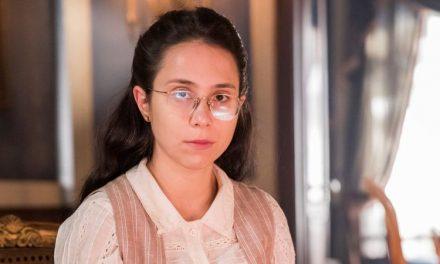 """Daphne Bozaski estreia em segunda fase de 'Nos Tempos do Imperador' e avalia Dolores: """"Passarinho na gaiola"""""""