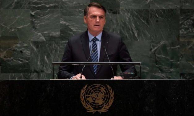 Veja a íntegra do discurso de Bolsonaro na Assembleia Geral da ONU