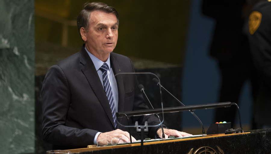 """""""Vergonhosa"""", fala de Bolsonaro é recebida na ONU com indignação e chacotas"""
