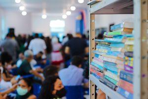 Marituba reinaugura biblioteca e entrega Ponto de Coleta Seletiva Voluntário