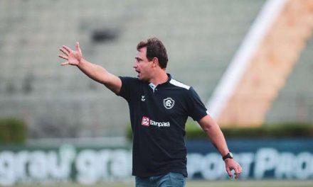 Comandando o Remo, Felipe Conceição se diz ansioso para reencontro com a torcida
