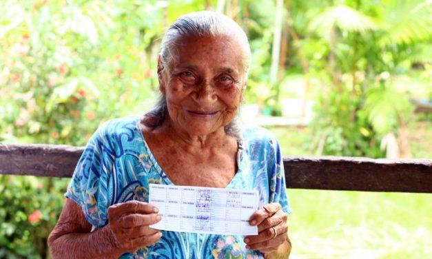 Marituba imuniza moradores ribeirinhos do município