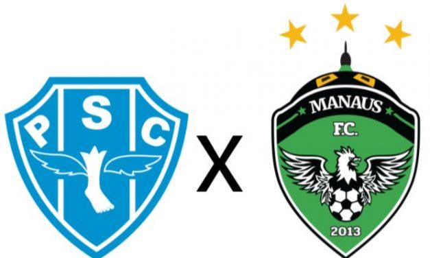 Paysandu encara o Manaus na Curuzu pela Série C