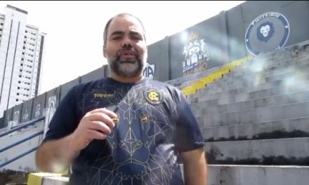 """Fábio Bentes fala sobre metas do Remo e da permanência de Conceição: """"Acordo de homens"""""""