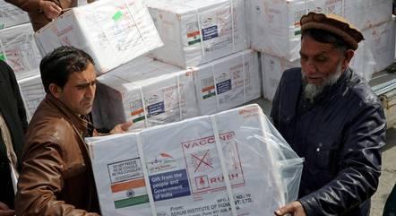 Índia vai exportar oito milhões de vacinas anticovid em outubro