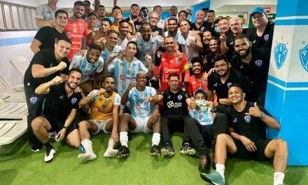 Paysandu enfrenta Ituano, Botafogo-PB e Criciúma por uma vaga na Série B de 2022